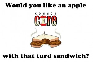 Common Core Apple and Turd Sandwich